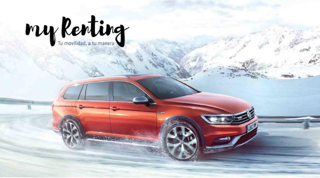 Con Volkswagen my Renting eliges tu coche y tu cuota