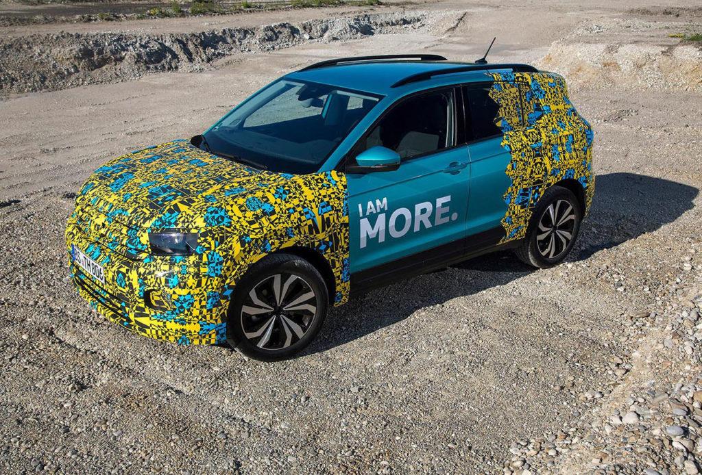 Nuevo Volkswagen T-Cross, la gama SUV de la marca se amplía