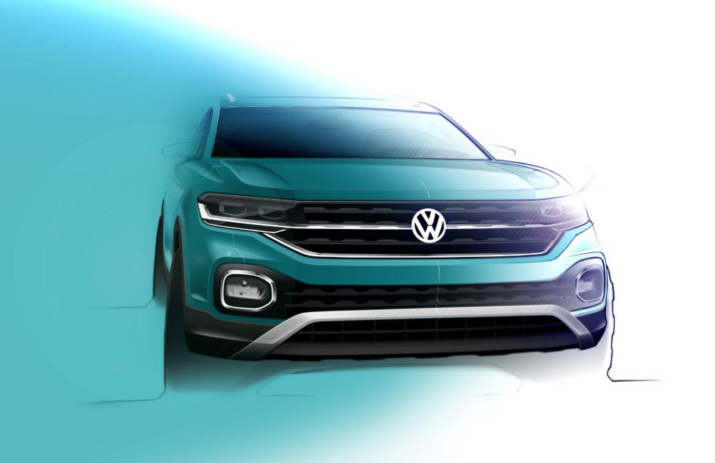 Volkswagen T-Cross, el nuevo SUV que llegará en otoño
