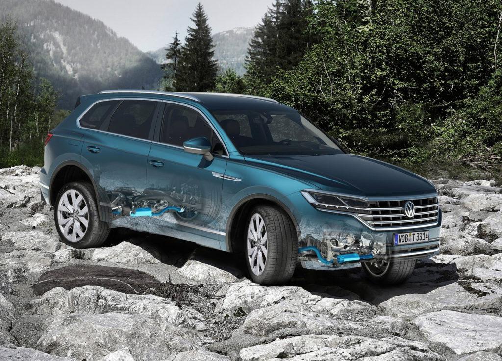 Las innovadoras tecnologías del nuevo Volkswagen Touareg