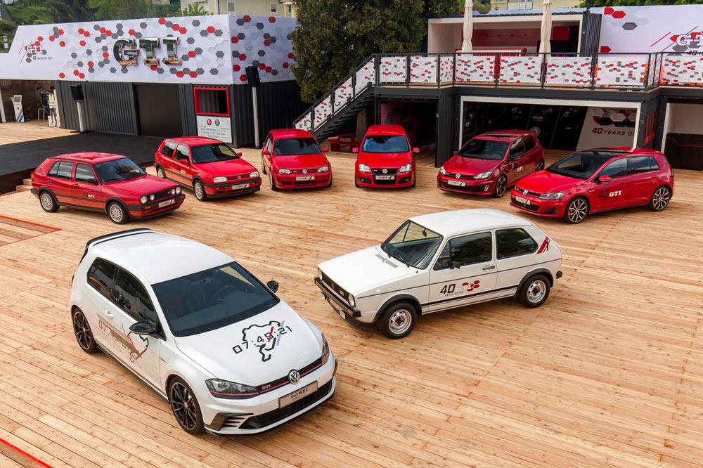 Celebramos 42 años del Volkswagen Golf GTI
