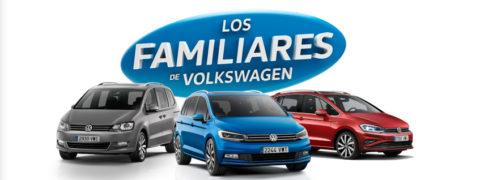 Los familiares de Volkswagen: elige el tuyo