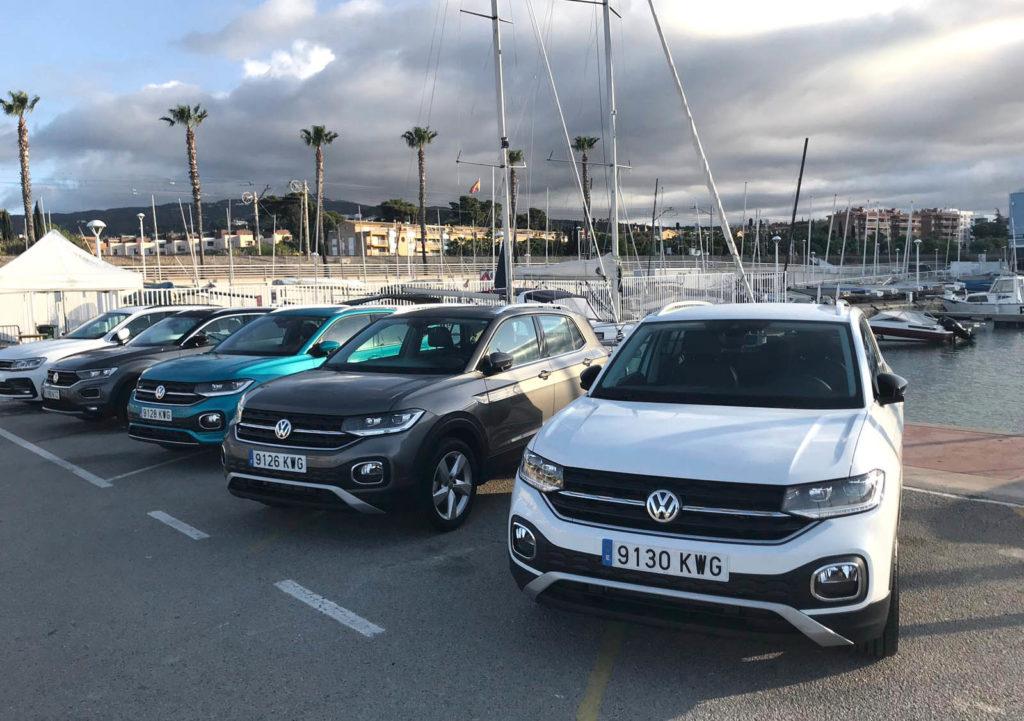 Presentamos el nuevo Volkswagen T-Cross en Port Balís