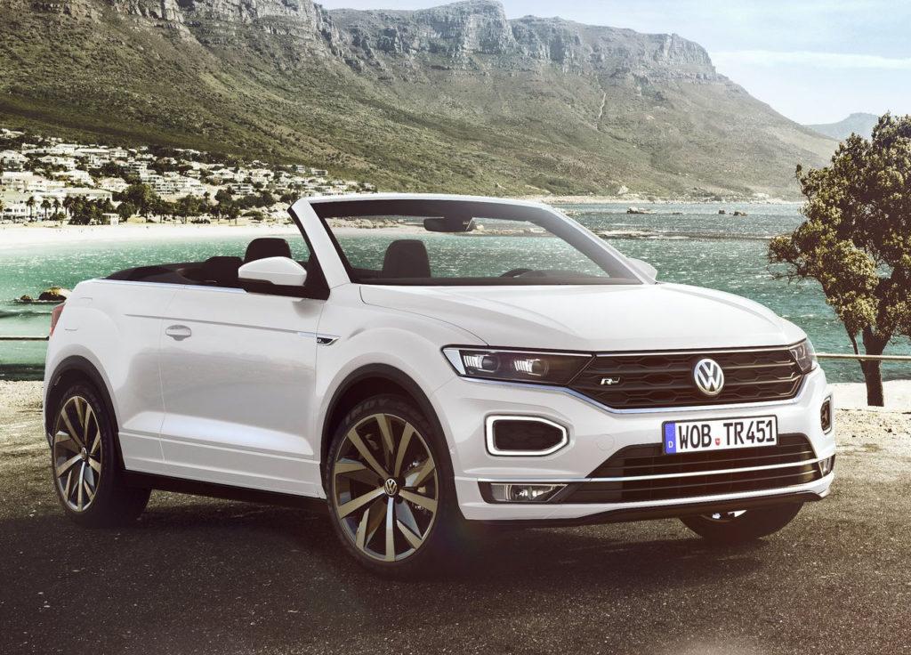 Volkswagen anuncia el T-Roc Cabrio, un descapotable único