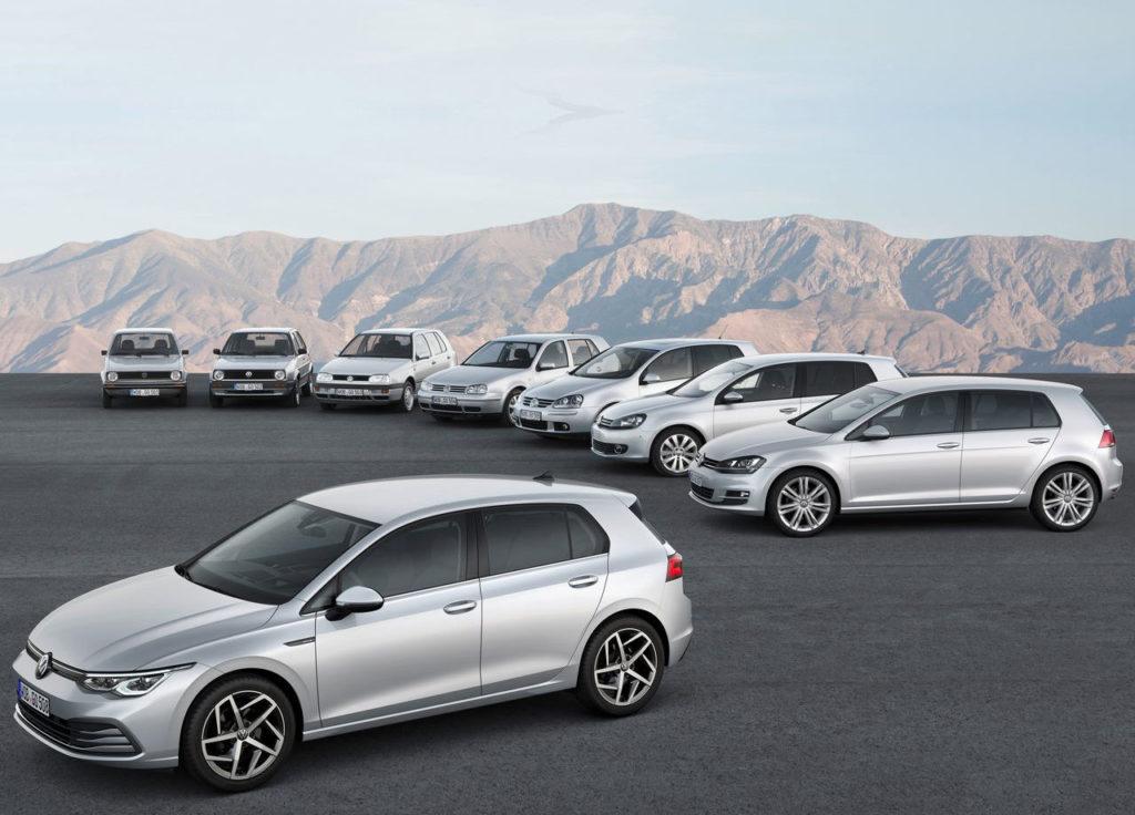 Se inicia la comercialización del nuevo Volkswagen Golf 2020
