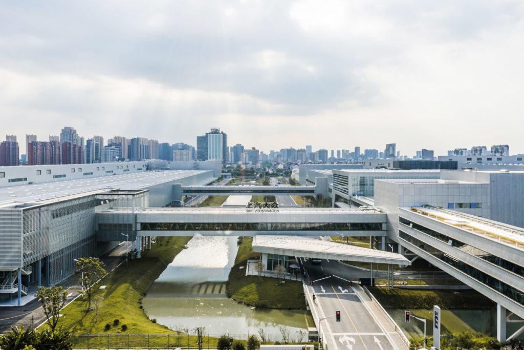 Volkswagen empieza a fabricar la plataforma de propulsión eléctrica MEB en China