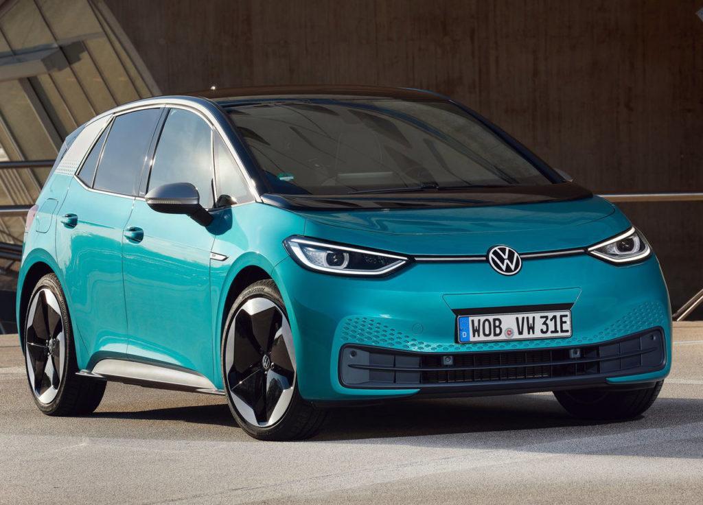 Más autonomía y potencia de carga para el Volkswagen ID.3 en 2021