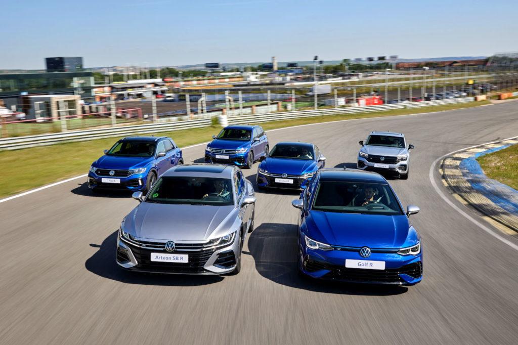 Volkswagen presenta la mayor gama deportiva R de su historia